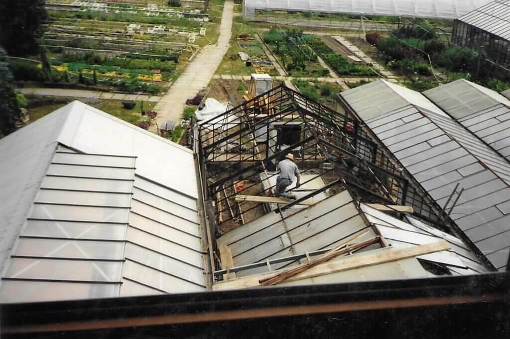 1992 Glashausbau