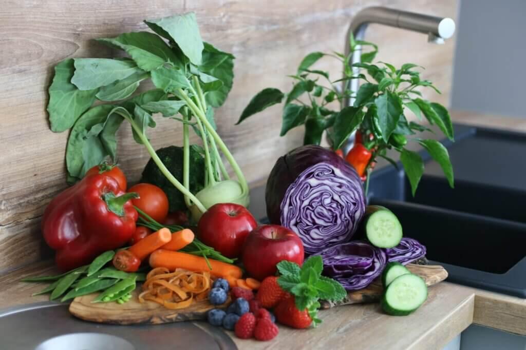 vom Garten in die Küche
