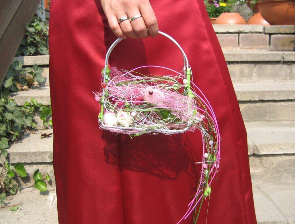 Körperschmuck Florale Handtasche