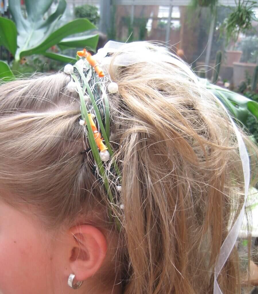 Hochzeit Haarschschuck als Reif
