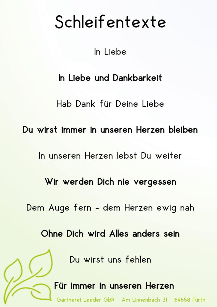 Schleifentexte 1-1