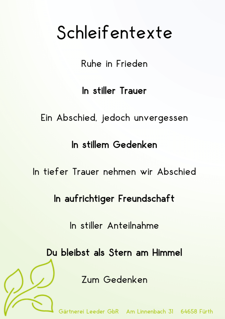 Schleifentexte 3-1