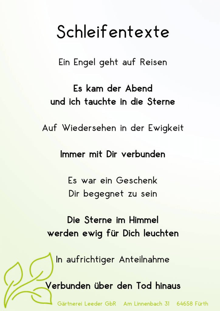 Schleifentexte 4-1