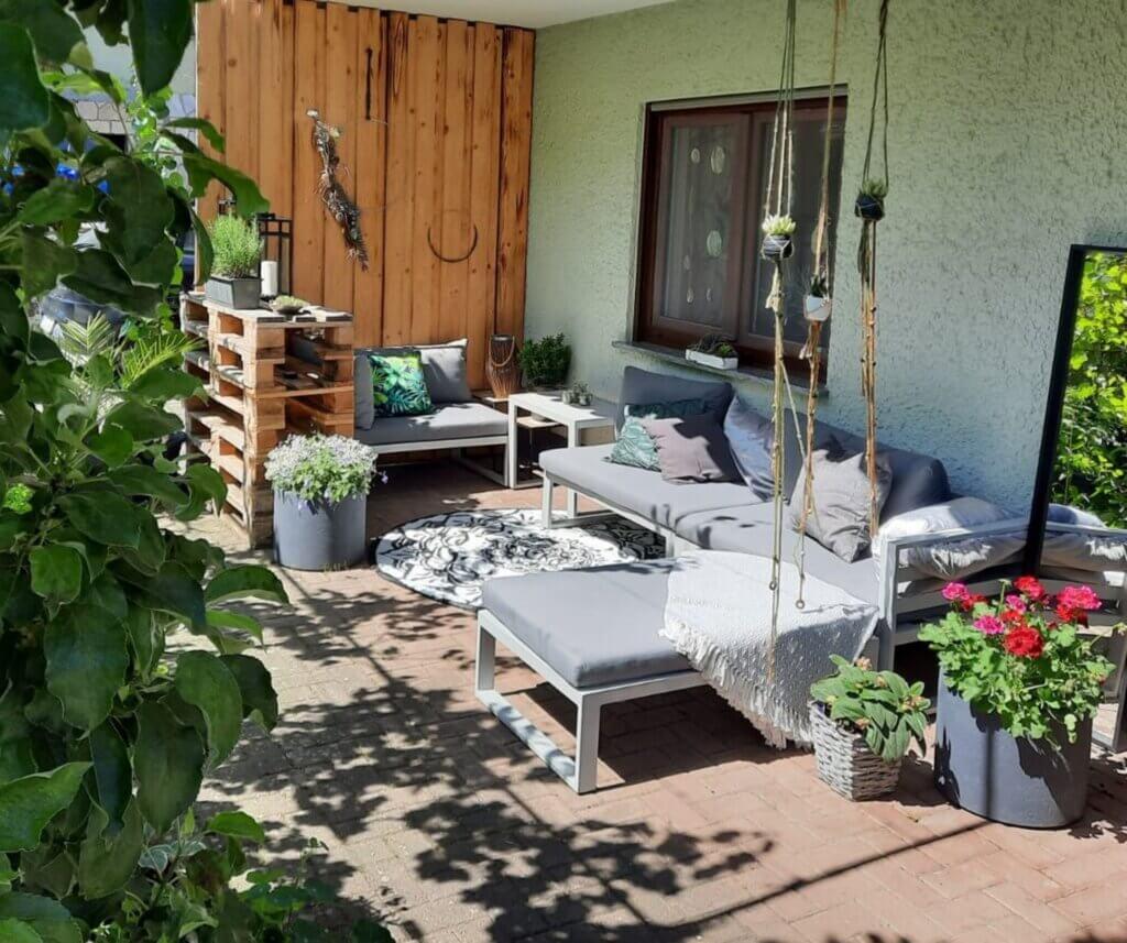 Garten & Balkon gemütliche Terasse